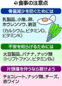 [めまい対策](3)食事、運動で内耳血流改善