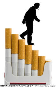 時給差570円、低い再就職率…喫煙者