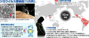 中南米中心に流行のジカ熱…五輪控え感染飛び火警戒