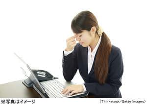 オフィスワーカーの6割にドライアイ…仕事の効率も悪化