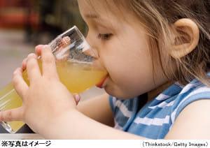 子供の胃腸炎、脱水予防には薄めたリンゴジュースが良い?
