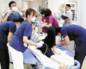 (1)心肺停止、天寿か救命か