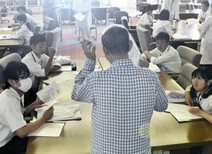 学生向けにHIV講習…若いうちから正しい知識