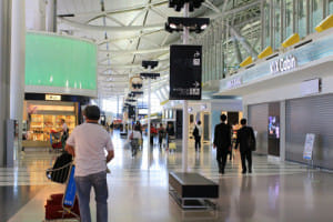 麻疹の感染が拡がっている関西国際空港