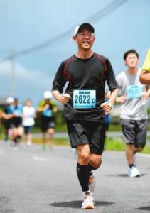 まだ熱心に走っていた2012年の春日部大凧(おおだこ)マラソン