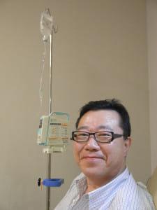 西村元一さん(上)患者になってわかったことを広く伝えたい