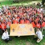 東京・日比谷公園で2016年10月に開かれた「体験会」の参加者ら