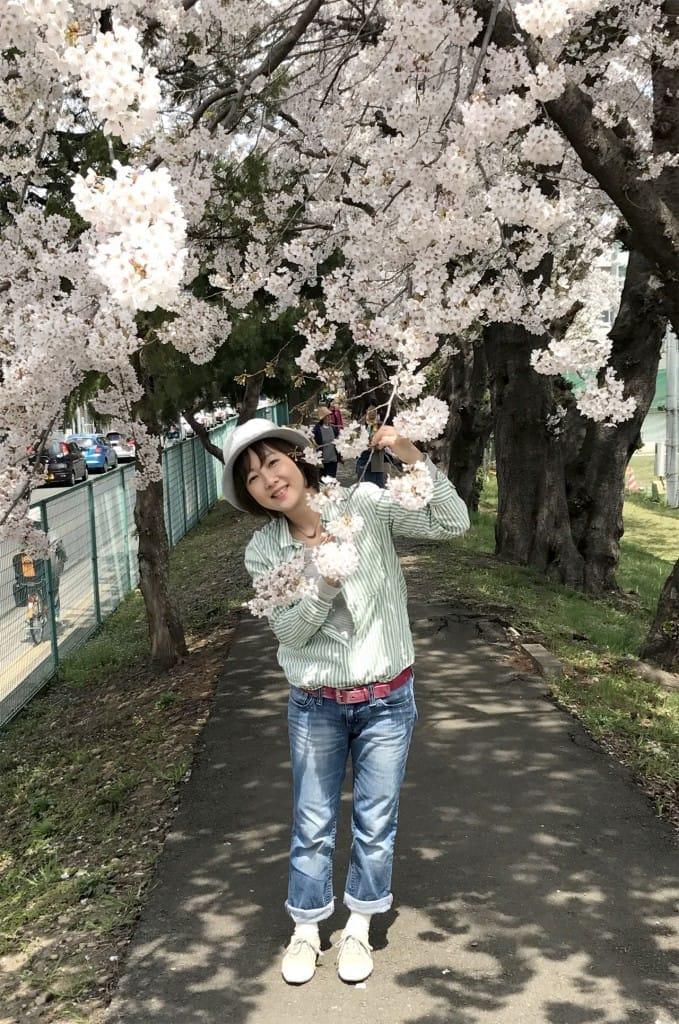 仙台にも桜が春を運んできてくれました