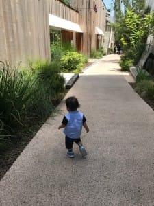 歩くのが早くなった息子です