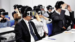 認知症の幻覚や記憶障害、VR(仮想現実)で体験…恐怖の映像に悲鳴も