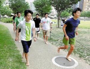 裸足ランニング(3)忍者のように走る