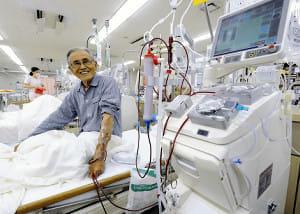 【いのちの値段】透析と人生(1)41年の治療費2億円