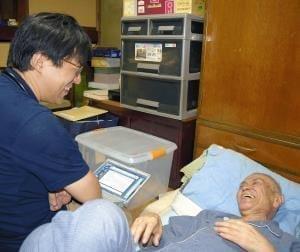 [がん在宅医療 柏の現場](上)患者を支える「チーム」