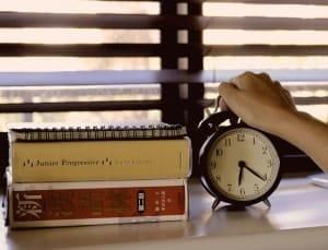 睡眠1回目3時計