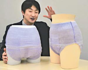 「薄い」「吸水力すごい」…大人用紙おむつ、アジアで人気