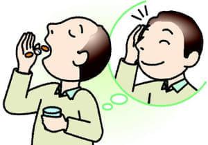 薄毛・脱毛(3) 保険適用外の薬 月1万円