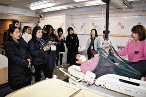 タイの視察団46人、横浜の高齢者施設に学ぶ