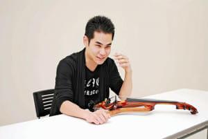 [バイオリニスト 式町水晶さん]脳性まひ(3)バイオリンで見返す