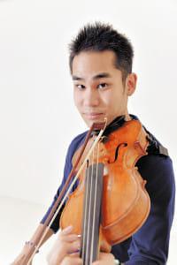 [バイオリニスト 式町水晶さん]脳性まひ(4)人のためにコンサートを