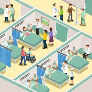 「大病院」って、ベッドが何床以上?…診療報酬改定で基準下げ