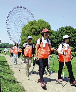 話して歩いて認知症予防…東京・江戸川区で60人参加