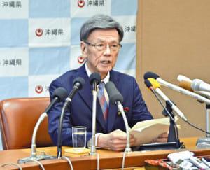 沖縄県の翁長知事、膵臓がんを公表