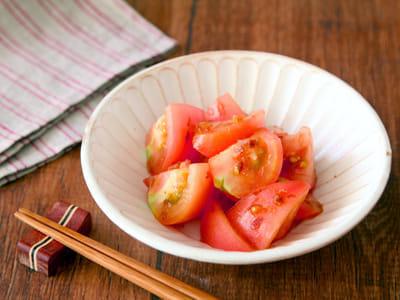 トマトの減塩おひたし