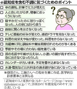 [介護のいろは](8)帰省中 親の不調どう気づく?