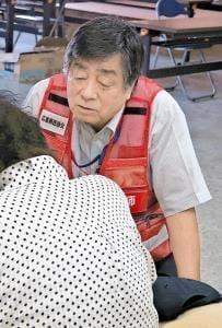 豪雨被災地報告(4)感染症 迅速な対応で予防