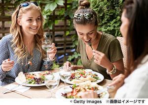 女は栄養豊かな食事で幸せに!?