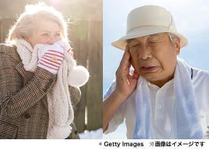 季節で異なる? 高齢者の記憶力・認知機能