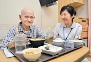 食のサポート(3)患者ごとに最適の病院食