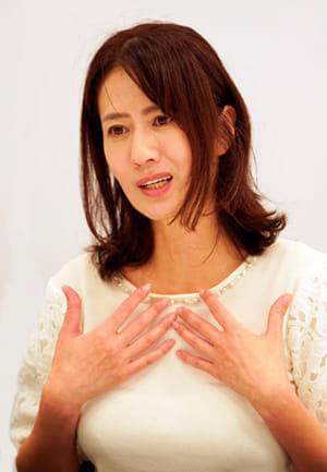 [モデル・女優 嶋村かおりさん](上)不妊治療中にまさかの乳がん判明 全摘手術を勧められ…