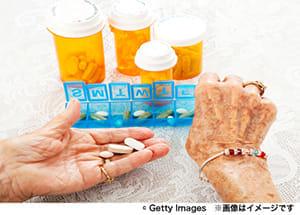 高齢者の多剤服用の対策が急務に
