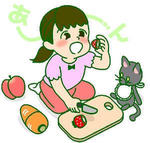 不慮の事故(13) 分離する玩具も注意必要