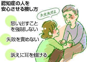 認知症予防(9) 叱責せず 優しく接する