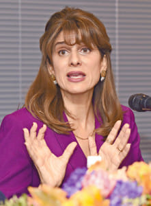 国際対がん連合会長に就任…ヨルダンのディナ妃「早期診断、治療の充実を」