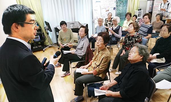 10月13日、東京都小金井市の「ピースガーデン小金井」で
