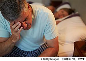 夜、人はストレスに弱くなる?