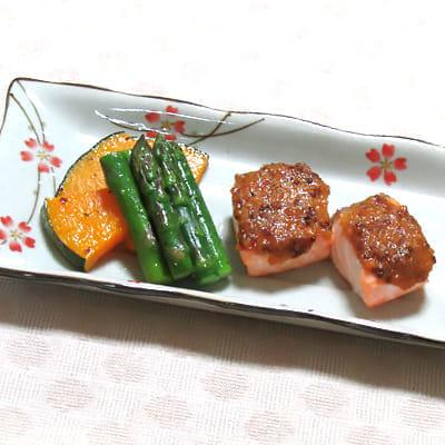 サケのマスタード焼き