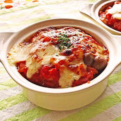 サバのトマトチーズ焼き