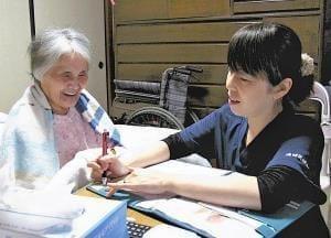 情報革命(4)動画で在宅患者を確認