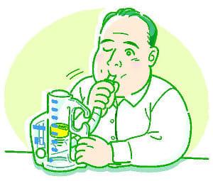 患者力(4) 術後見据え呼吸訓練