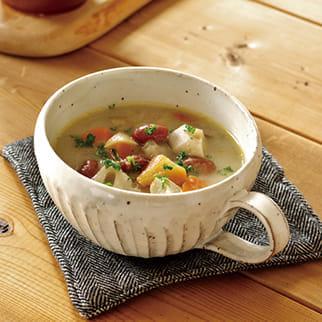 金時豆の具だくさんスープ