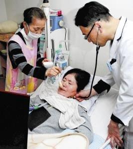 歯科訪問診療(1)食べて生きる気力養う
