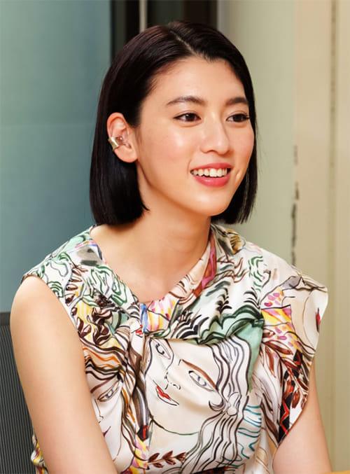 [女優・モデル 三吉彩花さん](上)話題映画の主役抜てきでプレッシャー 「求められるすべてに応えなくちゃ、と悩んだ」