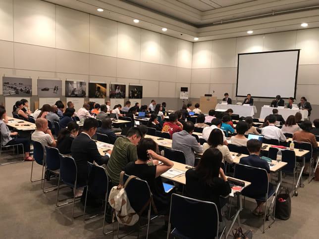 赤十字国際委員会(ICRC)主催のパネルディスカッション=ICRC駐日代表部提供