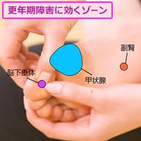 「更年期障害」ホルモンバランスを整える3つのゾーン
