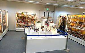 超合金の玩具の数々