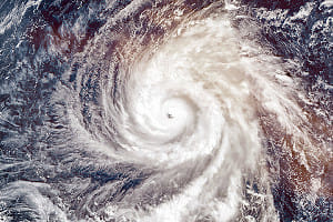 気象病~台風が近づくと喘息発作~
